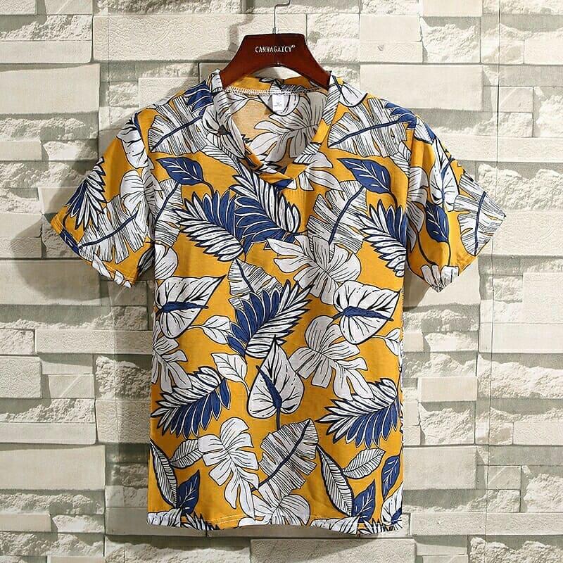 مشخصات تیشرت هاوایی پسرانه